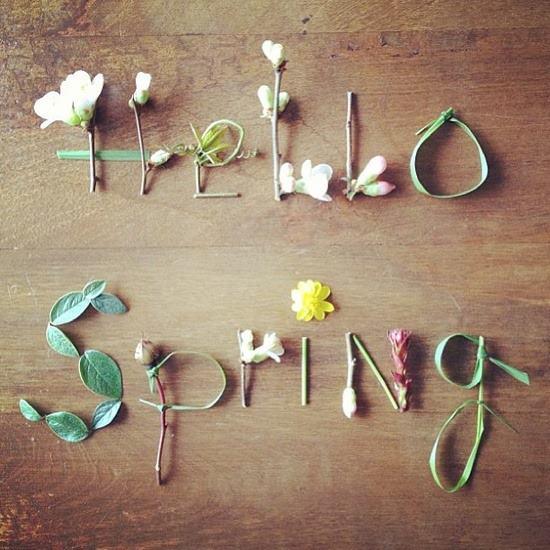 hello spring lente tag
